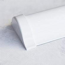 Белый короб для рулонных штор