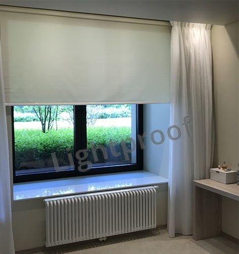 Рулонные шторы на проем окна