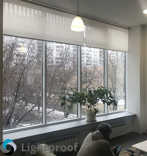 Рулонные шторы крепление к потолку