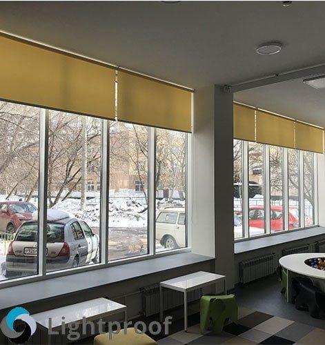 Рулонные шторы на заказ по свои размерам