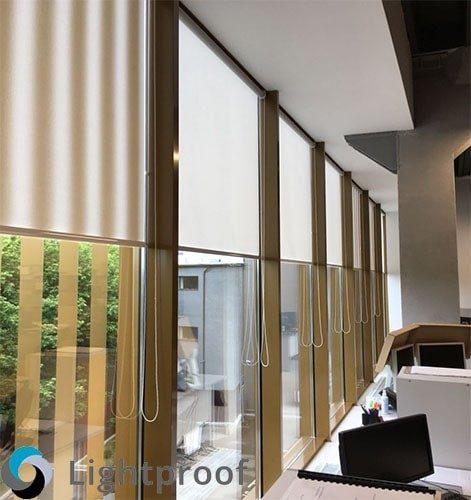Рулонные шторы на заказ по своим размерам