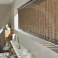 Бамбуковые вертикальные жалюзи