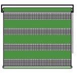 Рулонные шторы классика lvt зебра зеленые