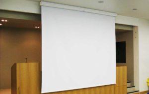 Рулонные шторы для проектора